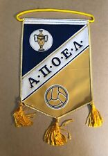 VINTAGE ΑΠΟΕΛ APOEL FOOTBALL TEAM CYPRUS PENNANT FLAG