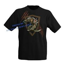 T shirt WORGEN taille L noir pour homme world of warcraft wow man new black NEUF