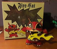 FIRE CAT - 7 inch - by Joe LEDBETTER - Wheaty Wheat studios 2005 - LTD 400
