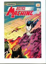 Justice Machine 4 . Comico 1987 -VF