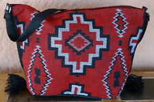 Jacquard Zipper Purse OPNEW-P Southwest Southwestern Design Bag