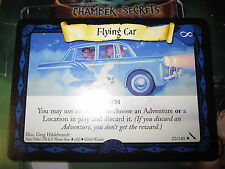 HARRY POTTER TCG CARD CHAMBER OF SECRETS FLYING CAR 22/140 RARE MINT ENGLISH