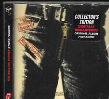 The ROLLING STONES Sticky Fingers CD with zip COLLECTOR'S EDITION cerniera