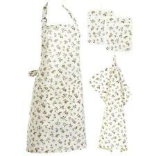 Bellina Floral Apron Pot Holders & Tea Towel Dish Cloth Kitchen Accessory Set