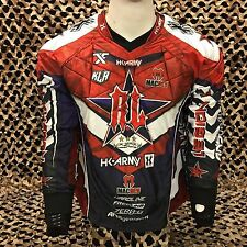 HK Army 2017 Russian Legion Hardline Paintball Jersey - Blue red 4e3c243a4
