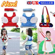 Adjustable Backpad Strap Baby Kids Toddler Walking Harness & Safety Reins New