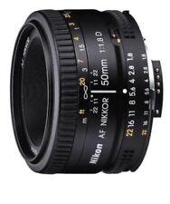 Nikon AF NIKKOR 50mm f/1.8D Lens - Black. Brand new! Perfect portrait lens!
