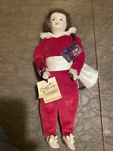 Vintage 1982 Wax Doll  wax arms and legs