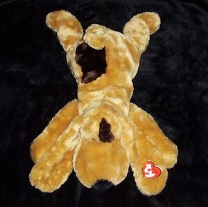 NEW Ty Classic SNIFFY Hound Puppy Dog Plush Beanie Stuffed Animal NWT 2001