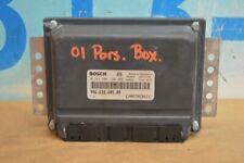 2001 986 PORSCHE BOXSTER ENGINE CONTROL UNIT MODULE ECU ECM 996.618.605.00