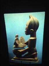 "Yoruba ""Kola Nuts Offering Bowl"" Primitive African Tribal Art 35mm Vintage Slide"