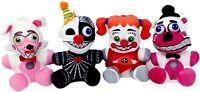FNAF Plush Toy Set of 4 (Ennard, Funtime Foxy, Funtime Freddy, Circus Baby)