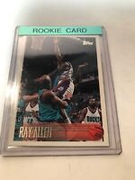 1996 96 TOPPS Ray Allen ROOKIE RC #217, Bucks