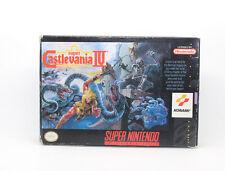 SUPER CASTLEVANIA IV 4 SUPER NINTENDO SNES NTSC USA