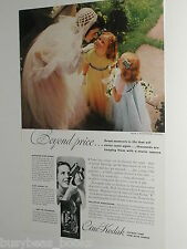 1938 Kodak movie camera ad, Cine-Kodak, color, Bride