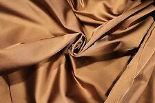 Armani Body-Flattering Stretch Satin in Pale Bronze!
