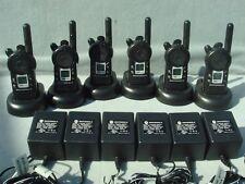 6 REFURBISHED MOTOROLA CLS1410 2 WAY RADIOS UHF 1 WATT 4 CH + 90 DAY WARRANTY