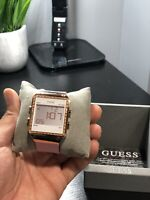 **BRAND NEW Guess Women's Digital Silicone Rose Gold Watch **FAST FREE SHIPPING