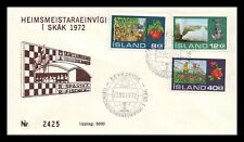 Iceland 1972 FDC, Hothouse Plants, Geothermal Heating. Lot # 9.