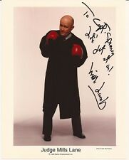 JUDGE MILLS LANE Hand Signed 8x10 Photo - Free S/H in the US
