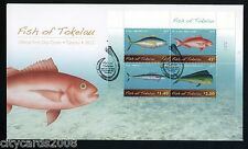 2012  NEW ZEALAND TOKELAU   Fish    M/S  FDC