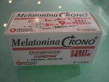 MELATONINA CRONO 1 CONFEZIONE L-triptofano E Vitamina B6 30 COMPRESSE