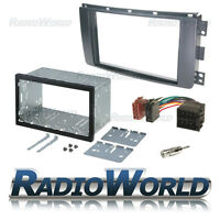 Smart ForTwo Double Din Fascia Panel Adapter Plate Cage Fitting Kit DFP-13-05 ..