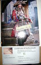 Keith Richards Signed Pirates of the Caribbean Autograph The Rolling Stones