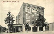 A Closeup View of the Mattoon Building, Endicott Ny