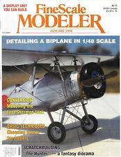 Fine Scale Modeler Jan90 Biplane K5Y Willow Trainer Hawker Siddeley Gnat