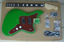 DIY/Build Your Own GUITAR KIT J Master Offset Sherwood Green w/Block Inlay Neck