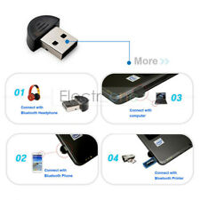 Mini USB Bluetooth Dongle Adapter for Laptop PC Win Xp Win7 8 iPhone 4GS 5GS