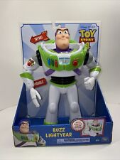 New listing Toy Story 4 Buzz Lightyear with Karate Chop Action & Posable - New