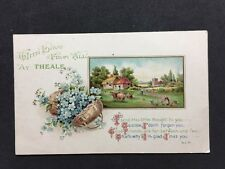 Vintage RPPC: Berkshire: #T63: With Love From Theale: W & K