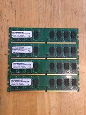 Micron 8GB RAM (4X 2GB Kit) DDR2 PC6400 PC2-6400 800MHz Desktop Memory 240-Pins