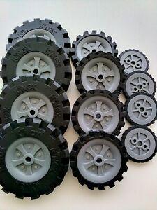K'Nex Narrow Wheel Mix  x 12  DW2224 Job Lot Bulk Buy