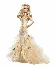 BARBIE 50TH ANNIVERSARY Gold Glamour Doll Robert Best 2008 * NIB