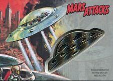 Mars Attacks The Revenge Silver Medallion [15] Card CM-ST The Skyscraper Tumbles