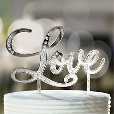 Love Wedding Cake Topper - Ideal for wedding cakes