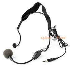 Earhook Headset 3.5mm Plug Microphone For Sennheiser Wireless Mic Mike System