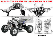 Amr racing décor Graphic Kit ATV yamaha yfz 450 04-14,yfz 450r 09-16 reaper B