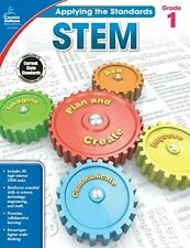 Carson-Dellosa Grade 1 Applying the Standards Stem Workbook Education Printed