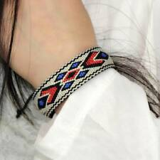 Fashion Ethnic Fashion Bracelets Women Boho Jewelry Handmade Woven Braided