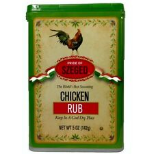 Szeged Hungarian Chicken Rub One 5 oz. Can