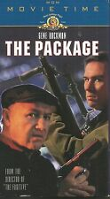 The Package (VHS TAPE) GENE HACKMAN TOMMY LEE JONES JOANNA CASSIDY DENNIS FRANZ