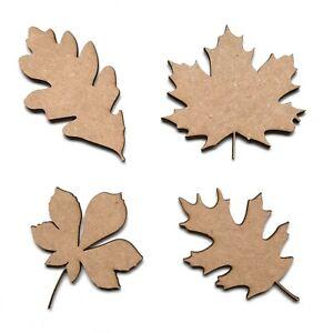 Wooden Leaves MDF Leaf Shapes Wall Art Shapes Embellishment Decoration Craft