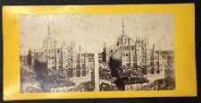 Vintage Stereo-View Stereoscopic Photo: #A59: Mystery Cathedral: Europe?