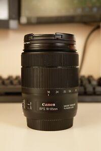 Canon EF-S 18 - 135mm f/3.5-5.6 IS Nano USM Lens Camera for 80D 90D 7D