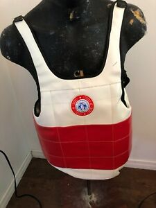 Reversible Taekwondo Body Chest Protector The World Taekwondo Federation