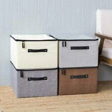 Storage Case Foldable Washable Case Daily Box Folding Organizer S3
